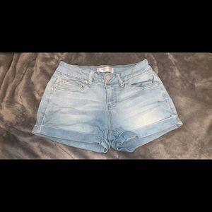 Pants - light denim shorts